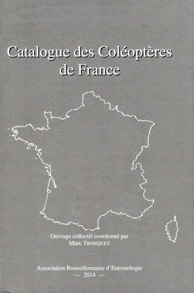 Catalogue des coleopteres